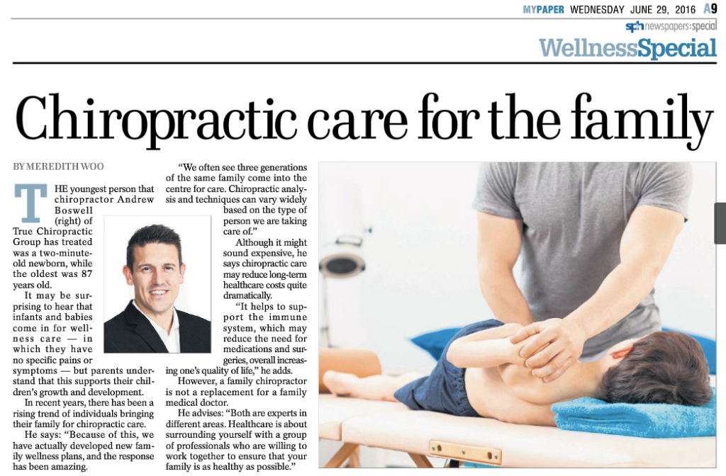 Chiropractic Care for the Family