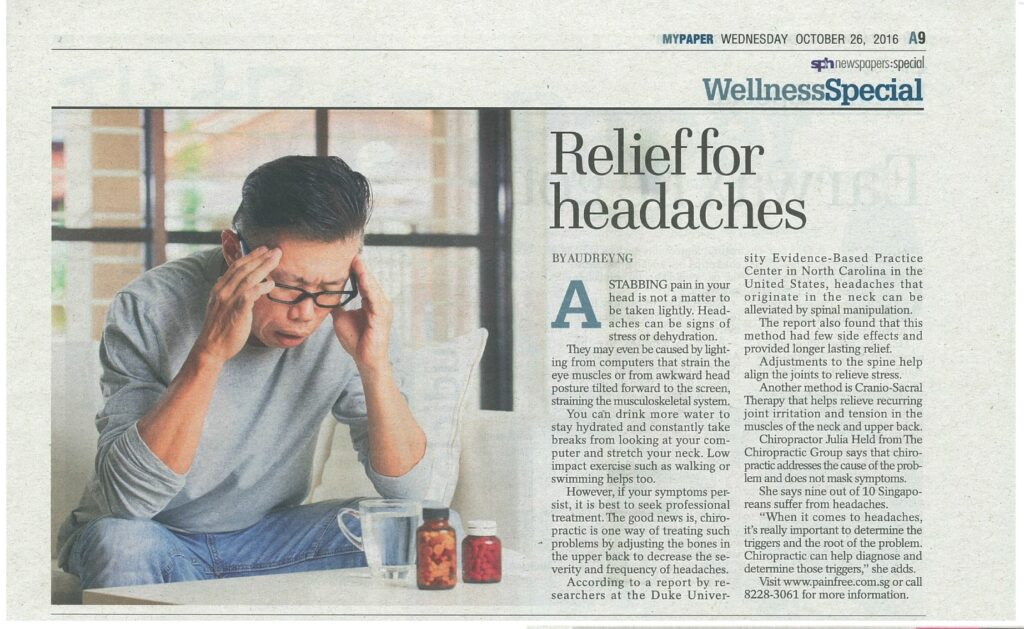 Relief for Headache